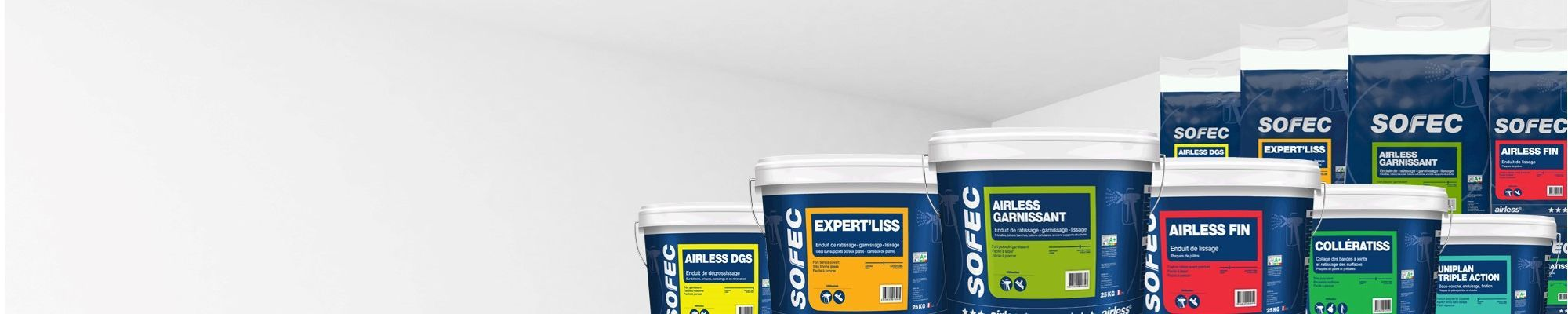 With innovative spirit, SOFEC design Airless Coatings for all purposes and surfaces treatment.