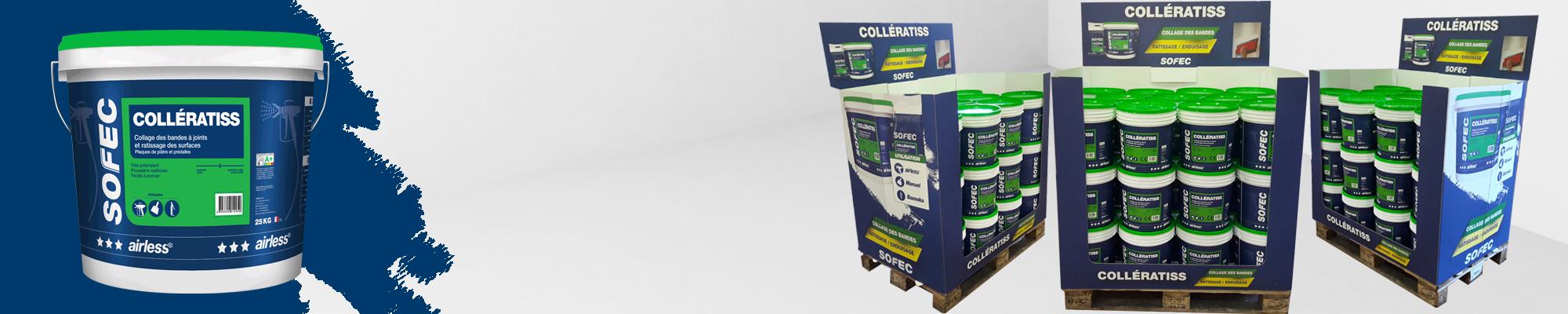Collératiss : Enduit Multifonctions et Multisupports